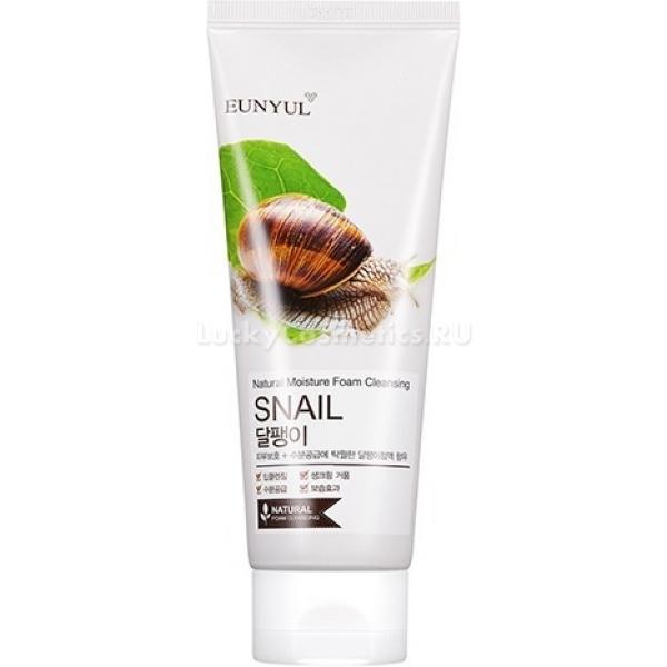 Eunyul Snail Foam CleanserПеред любыми ухаживающими процедурами и перед нанесением макияжа кожу необходимо очищать. Большинство эффективных очищающих средств приносят негативное последствие – потеря природной влаги и пересушивание кожи. Пенка для умывания от компании Eunyul выгодно отличается от аналогов, ведь она не только очищает, но и глубоко ухаживает за кожей. Она входит в серию средств на основе экстракта улиточной слизи Snail.<br>Экстракт улиточной слизи, или улиточного муцина – один из самых популярных компонентов азиатской косметики. В нем содержатся все необходимые для поддержания молодости кожи вещества – коллаген, эластин, гиалуроновая кислота, аминокислоты. Благодаря содержанию этого вещества в составе пенки, она не только глубоко очищает кожу, но и бережно ухаживает за ней, питает полезными веществами и восстанавливает.<br>Ежедневное использование пенки Snail Foam Cleanser поможет:<br>глубоко очистить кожу;<br>напитать ее полезными веществами;<br>активизировать природный процесс регенерации;<br>устранить шелушения и раздражения;<br>замедлить возникновение возрастных проявлений.Объём: 150 мл.Способ применения:Выдавите небольшое количество пенки на ладони и взбейте густую, обильную пену при помощи активных движений. Также можно использовать для этой цели специальную мочалку. Затем нанесите средство на поверхность лица и мягко помассируйте подушечками пальцев. Избегайте излишне активных и интенсивных движений. Затем умойтесь прохладной или теплой водой до полного удаления средства с поверхности лица.<br>