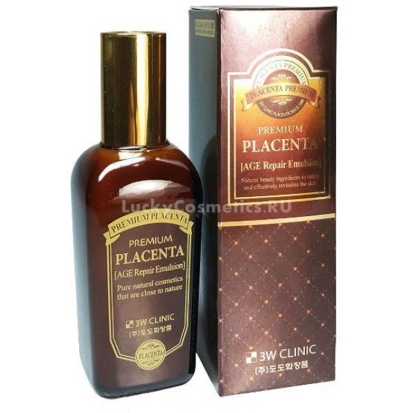 Купить W Clinic Premium Placenta Age Repair Emulsion, 3W Clinic