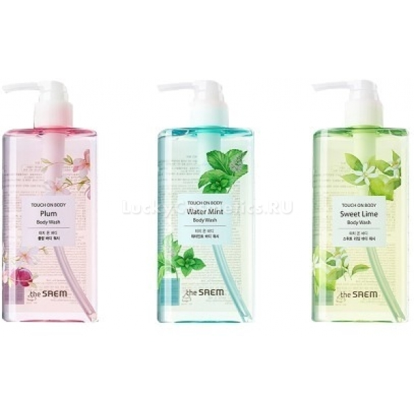 Купить The Saem Touch On Body Water Body Wash
