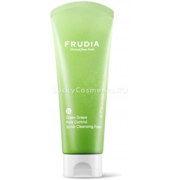 Купить Frudia Green Grape Pore Control Scrub Cleansing Foam