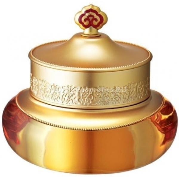 Qi ampJin   The history of whoo Qi amp Jin Eye CreamКрем для век Gongjinhyang&amp;nbsp;Qi&amp;amp;Jin - это комплексный уход за нежной кожей век для придания ей восхитительной нежности и непревзойденной красоты. Состав крема обогащен экстрактом Даурского Дудника (Ангелики)1, который интенсивно борется с первыми признаками старения кожи, такими как: поверхностные морщинки, &amp;laquo;гусиные лапки&amp;raquo; в уголках глаз. А запатентованный ингредиент &amp;laquo;Qi&amp;amp;Jin&amp;raquo;, составленный на базе традиционных рецептов восточной медицины и подвергшийся специальной ферментативной обработке, возвращает коже упругость, успокаивает её, великолепно увлажняет, борется с отечностью, осветляет темные круги под глазами и восстанавливает эластичность кожи.<br><br><br><br>&amp;nbsp;<br><br>Способ применения: наносить утром и вечером после лосьона The history of whoo Gongjinhyang In Yang Lotion.&amp;nbsp;Крем для век наносить на неподвижное веко - от центра к внешней стороне, снизу - от внешней стороны к центру легкими движениями, не растягивая кожу глаз.<br><br>1Ангелика прекрасное тонизирующее средство для увядающей кожи, кожи склонной к раздражениям. Масло ангелики обладает антисептическими, регенерирующими свойствами.<br>