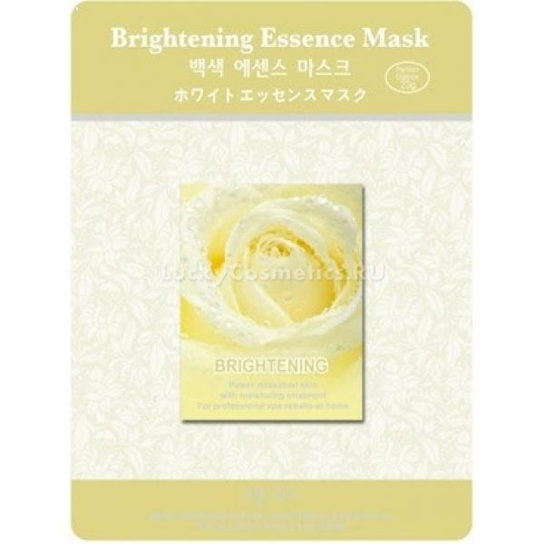 Mijin Cosmetics Brightening Essence MaskУникальный комплекс растительных экстрактов освежающей маски Brightening Essence Mask от Mijin Cosmetics сделают вашу кожу светлее и ярче. После продолжительного действия эссенции исчезают покраснения и раздражения, осветляется общий тон кожи, пропадает пигментация и выравнивается цвет, так что с помощью этой маски лицо становится светлым, очень нежным и кукольным.<br><br>Такой эффект достигается сочетанием экстрактов лимона (стирает тёмный пигмент из верхних слоёв эпидермиса), коры белой шелковицы (гасит процессы раздражения и устраняет покраснения) и зелёного чая (в его составе танины повышают упругость кожи, полифенолы защищают от свободных радикалов, кофеин стимулирует обмен веществ).<br><br>Таким образом, с помощью натуральных средств значительно улучшается красота лица, и эта маска поможет даже обладателям чувствительной кожи.<br><br>&amp;nbsp;<br><br>Объём: 23 г<br><br>&amp;nbsp;<br><br>Способ применения:<br><br>Маску нужно положить на предварительно очищенное лицо, и оставить её на период до 25 минут. Массаж подушечками пальцев поможет коже лучше воспринять эссенцию. После устранения тканевой основы помассируйте лицо также с остатками средства, затем умойте его тёплой водой. Маску регулярно применяйте каждые 2-3 дня в течение двух недель для достижения и закрепления осветляющего эффекта.<br>