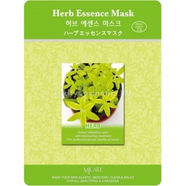 Mijin Cosmetics Herb Essence MaskОдноразовая маска Herb Essence Mask с травяными экстрактами от Mijin Cosmetics способствует лечению воспалений, очищению пор и обеззараживанию повреждений. В её составе работает комплекс трав: полынь, шалфей, тысячелистник, портулак, одуванчик. Активные компоненты (флавоноиды, пектины, тонины) препятствуют проникновению микробов в кожу, способствуют очищению от избытков кожных выделений и нормализации работы сальных желез. В результате маска избавляет кожу от появления угревой сыпи, чёрных точек, комедонов и воспалений. Также происходит успокаивание раздражений, устранение покраснений и восстановление эпителиальной ткани на месте рубцов.<br><br>При регулярном применении маски наблюдаются эффекты отбеливания и улучшение настроения благодаря ароматерапическому действию травяных компонентов.<br><br>&amp;nbsp;<br><br>Объём: 23 г<br><br>&amp;nbsp;<br><br>Способ применения:<br><br>Маску можно использовать каждые 2-3 дня. На чистое и сухое лицо положите маску и займите удобное положение, чтобы в расслабленности провести 20 минут, пока эссенция с травами проникает в глубокие слои эпидермиса. Затем снимите тканевую основу и помассируйте пальцами насыщенную кожу для лучшего усвоения активных компонентов.<br>