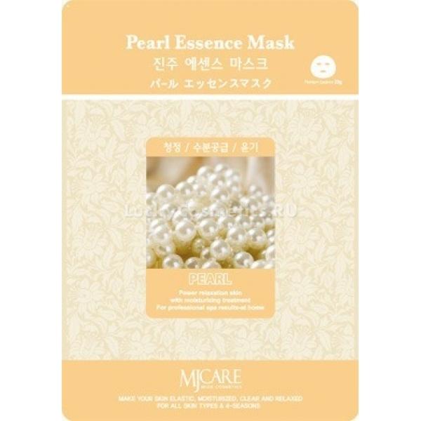 Mijin Cosmetics Pearl Essence MaskТканевая маска Pearl Essence Mask с жемчужным порошком от Mijin Cosmetics разносторонне улучшит состояние вашей кожи. Известно, что жемчуг формируется из вещества, выстилающего мантию моллюсков, которая отличается особенной гладкостью и ровным красивым цветом. Порошок из жемчужин состоит, в основном, из органических солей кальция, которые усваиваются клетками кожи и доставляют необходимый во многих процессах обмена веществ кальций.<br><br>Кроме кальция в жемчуге содержатся микроэлементы, стабилизирующие метаболизм и способствующие обновлению клеток, а также стимулирующие выведение продуктов обмена.<br><br>Порошок кальция, попадая в поры, уменьшает количество кожных выделений, что особенно важно для обладателей жирной и комбинированной кожи. Также он способен осветлять пигментацию на коже.<br><br>&amp;nbsp;<br><br>Объём: 23 г<br><br>&amp;nbsp;<br><br>Способ применения:<br><br>Извлеките маску из упаковки и, расправив её, положите на лицо. Займите удобное положение и подождите 15-25 минут. Мягкий массаж пальцами поможет улучшить эффект от использования маски. После применения аккуратно снимите ткань и похлопайте по остаткам эссенции, затем можете умыться тёплой водой. Режим проведения процедур с жемчужной маской &amp;mdash; каждые 3-4 дня.<br>