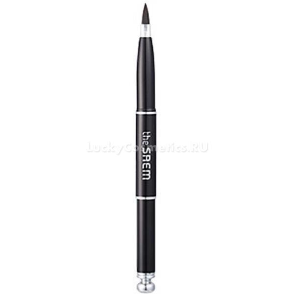 The Saem Lip BrushКисть для помады из натурального ворса от The Saem &amp;ndash; незаменимый инструмент для макияжа губ, с ее помощью вы не только нанесете средство тонким равномерным слоем (что не всегда удается при нанесении помады из стика непосредственно на губы), но и очертите их контур.<br><br>Плотно собранный ворс позволяет проводить кистью изящные тонкие линии, оформить выемку передней губы и распределить помаду по поверхности кожи, заполняя все складочки и неровности. Эта кисть вполне способна заменить контурный карандаш &amp;ndash; в нанесении она также проста, но кроме этого, ею легче затушевать всю площадь губ.<br><br>Кисть также дает вам свободу в выборе средств для губ. Если помада вашего любимого оттенка продается не в виде стика, а в емкости, из которой ее надо набирать специальным аппликатором или пальцами, вы можете смело приобрести ее, зная, что нанесение будет столь же удобным, как нанесение помады из классического выдвижного флакона.<br><br>&amp;nbsp;<br><br>Объём: 1 шт.<br><br>&amp;nbsp;<br><br>Способ применения:<br><br>Увлажните кожу губ, нанесите на нее консилер или базу, и приступайте к контурированию &amp;ndash; кончиком кисти очертите форму и заполните свободное пространство. Помаду из стика также удобнее наносить кистью &amp;ndash; откройте флакон и выдвиньте стик с помадой, наберите необходимое количество и распределите ее по поверхности губ.<br>
