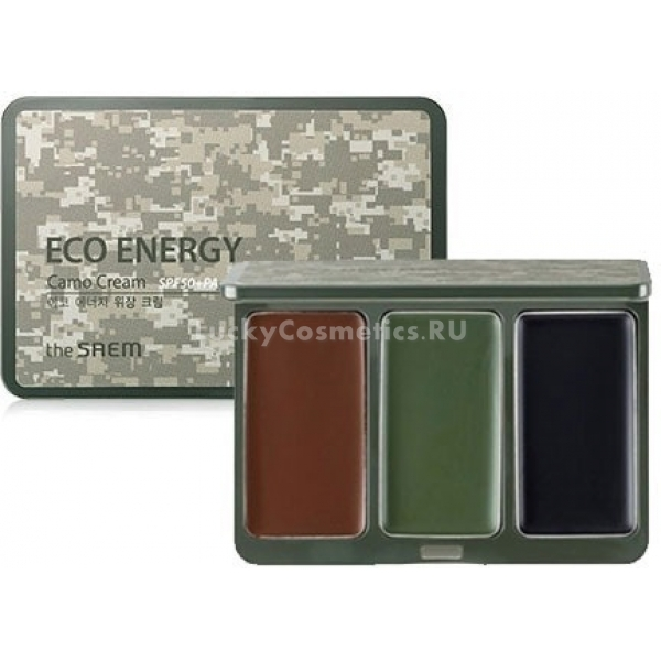 Крем-камуфляж The Saem Eco Energy Camo Cream