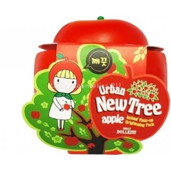 Baviphat Urban Dollkiss New Tree Apple Instant Toneup Brightening Pack