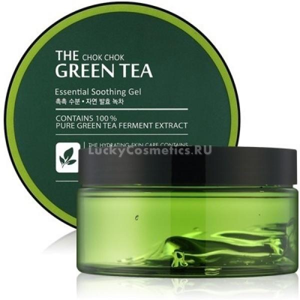 Tony Moly The Chok Chok Green Tea Essential Soothing Gel -  Для лица