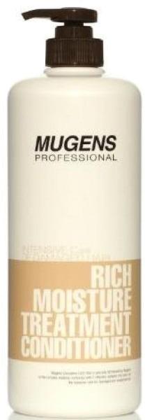 Welcos Mugens Rich Moisture Treatment ConditionerУвлажняющий кондиционер для волос Mugens Conditione – это здоровье ваших волос. Кондиционер питает сухие и ломкие волосы, увлажняет их. Уникальный растительный компонент на основе белка воздействует на структуру волос на клеточном уровне. За короткий срок ваши волосы поразительно преобразятся. Исчезнуть секущиеся концы, появится блеск и шелковистость.<br>Результат – здоровые пышные волосы с восстановленной структурой и объемом.<br>Масло арганы укрепляет волосы изнутри,  предупреждая воздействие прямого ультрафиолета, химической завивки и укладки. Потрясающий результат заметен в короткий срок. Rich Moisture Treatment  подойдет для частого использования.Объём: 1000 мл.Способ применения:Кондиционер наносится на влажные чистые волосы на пять минут. Затем средство смывается.<br>