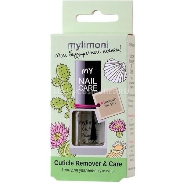 MyLimoni Cuticle Remover  CareКрасивый маникюр невозможно создать без удаления кутикулы. Существует средство, которое поможет быстро и безопасно избавиться от кутикулы, при этом увлажнив кожу, окружающую ноготь, а также позаботиться о самой ногтевой пластине. Это Cuticle Remover &amp; Care.<br>Этот продукт из линии косметических средств по уходу за ногтями MyLimoni способствует легкому и эффективному удалению кутикулы. В его составе ценные вещества, благотворно воздействующие на кожу и ногтевую пластину. Натуральные растительные экстракты способствуют смягчению, насыщению влагой и полезными веществами кожи, окружающей ноготь. Вытяжка кактуса стимулирует клеточное обновление и восстановление, укрепляя ноготь, делая его толще, активизируя рост.<br>Продукт эффективно тормозит рост кутикулы и предотвращает возникновение заусенцев.Объём: 6 мл.Способ применения:Наносить на чистую поверхность кутикулы, подождать до двух минут, после чего, при помощи палочки из апельсинового дерева удалить кожу. После процедуры помыть обрабатываемые участки в теплой воде.<br>