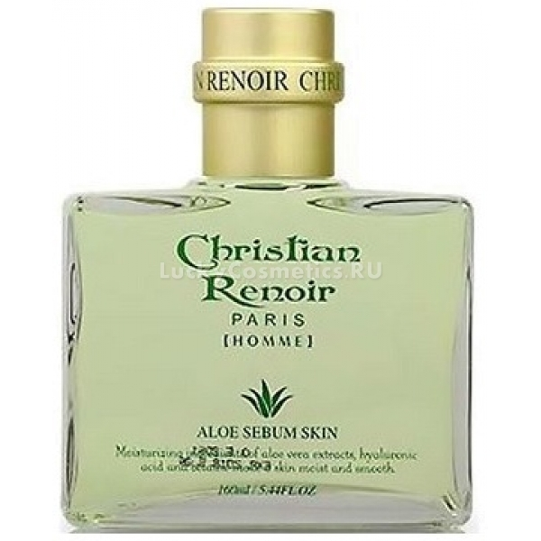Купить W Clinic Christian Renoir Aloe Vera Sebum Skin Homme, 3W Clinic