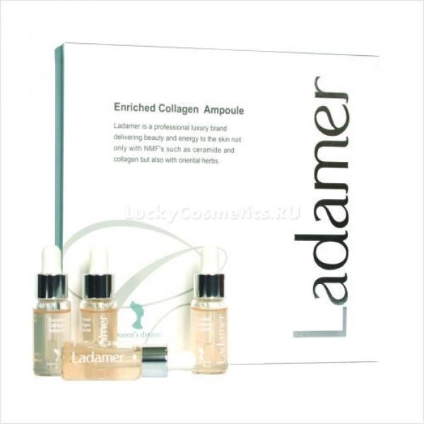 Ladamer Enriched Collagen Ampoule -  Для лица