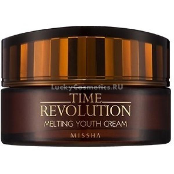 Missha Time Revolution Melting Youth Cream -  Для лица