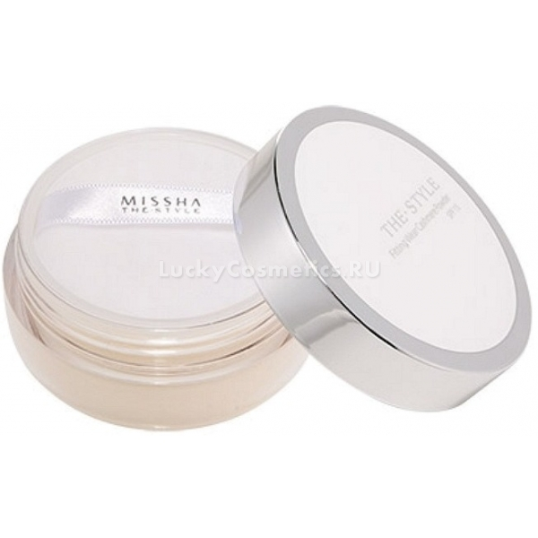 Рассыпчатая пудра для лица Missha The Style Fitting Wear Cashmere Powder SPF 15