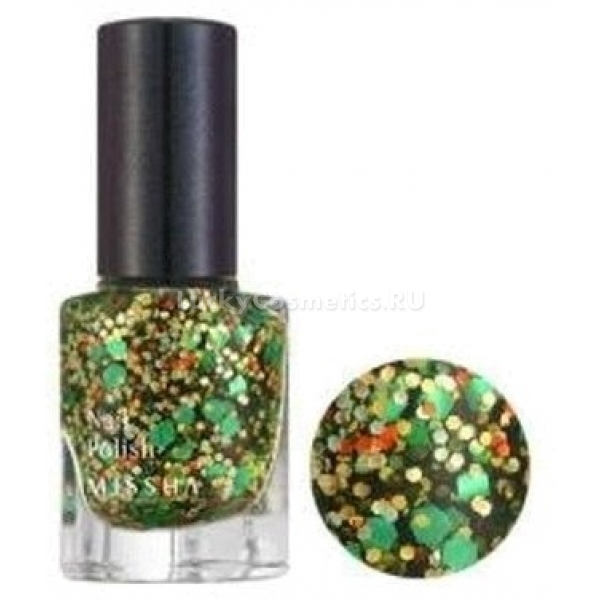 Missha The Style Nail Polish Gem StoneС лаком для ногтей от Missha создавать изумительный маникюр легко и просто! В коллекции пять цветов с блестками, каждый из которых дарит вашим ногтям поистине сногсшибательное сияние таких драгоценных камней, как рубин (№ 1), цитрин (№ 2), хризолит (№ 3), аквамарин (№ 4), аметист (№ 5). Лак обладает приятным ароматом цветов, легко наносится, не образуя сгустков, благодаря очень удобной кисточке. Сохнет в считанные минуты, отличается высокой стойкостью.Объём: 8 млСпособ применения:Лак следует наносить на предварительно обезжиренные ногти тонким слоем. Когда первый слой окончательно просохнет, нанести следующий.<br>