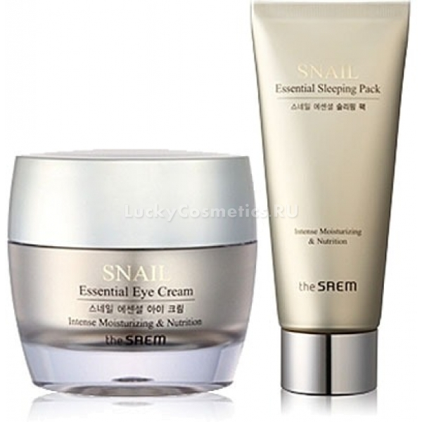 Купить The Saem Snail Essential Eye Cream Special Set