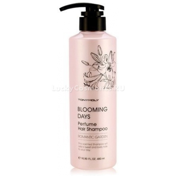 Tony Moly Blooming Days Perfume Hair Shampoo