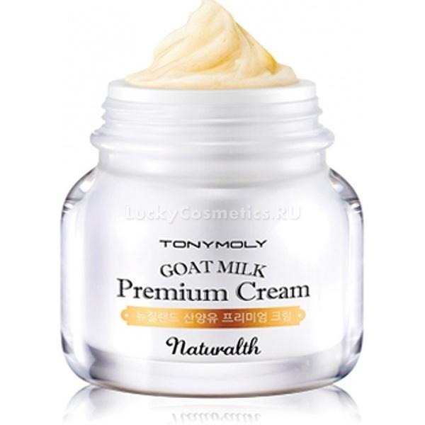 Антивозрастной крем  на основе козьего молока Tony Moly Naturalth Goat Milk Premium Cream