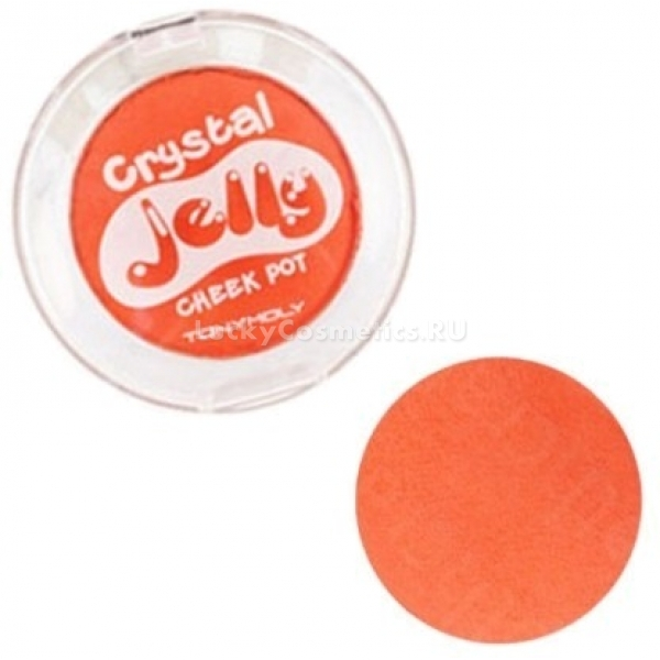 Кремовые румяна Tony Moly Crystal Jelly Cheek Pot