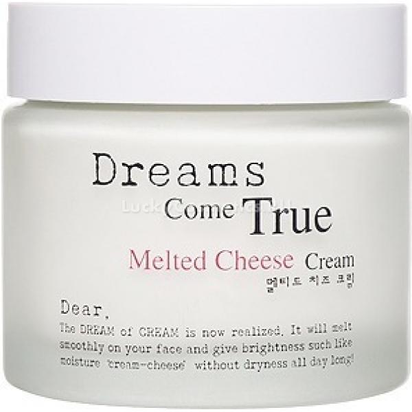 Enprani Dear By Melted Cheese CreamУниверсальный увлажняющий крем от компании Enprani содержит около 10 % сырных ферментов, что позволяет сохранять уровень влаги в коже и предотвращать ее сухость. Кроме того, ферменты способствуют быстрому обновлению тканей, активизируют рост и развитие клеток, помогают устранить воспаления. Благодаря своему активному действию, они мягко отшелушивают старые отмершие клетки, смягчают слои эпидермиса и отбеливают. Сырные ферменты освежают и отлично увлажняют кожу, предупреждают появление морщин за счет ускорения синтеза коллагена. Также в составе крема имеется экстракт риса, который регулирует обмен веществ, насыщает ткани влагой и омолаживает клетки. Использование крема помогает защитить кожу от внешней среды, значительно осветлить ее и освежить. Особенно полезен такой эффект для зрелой кожи, в которой уже начались процессы увядания и старения. Крем мгновенно проникает в ткани кожи, впитывается и питает их изнутри.Объём: 75 млСпособ применения:Нанести крем массирующими движениями на чистую кожу лица.<br>