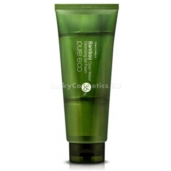 Tony Moly Pure Eco Bamboo Clear Water Cleasing Gel Foam -  Для лица