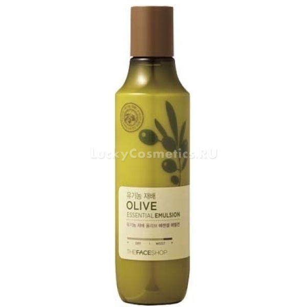 The Face Shop Olive Essential Moisture EmulsionС увлажняющей сывороткой для лица от корейской компании The Face Shop можно позабыть о сухости кожи и шелушениях. Косметическое средство обильно питает дерму и насыщает ее целебной влагой. Продукт могут использовать обладатели любого типа кожи.<br><br>В составе сыворотки содержится гиалуроновая кислота, пантенол, оливковое масло и каррагинан. Низкомолекулярная гиалуроновая кислота спасает кожу от обезвоживания, препятствует появлению складочек и других возрастных изменений. Пантенол является незаменимым помощником при нарушениях целостности кожного покрова. Он превосходно заживляет микротрещенки, нормализует метаболизм и регенерацию дермы, усиливает выработку структурного белка межклеточного матрикса.<br><br>Оливковое масло широко используется в косметологии для ухода за кожей, «испытывающей жажду». Этот природный компонент защищает кожу от действия ультрафиолета и других недружелюбных факторов. Структурирующая добавка каррагинан помогает задерживать влагу.<br><br>Сыворотка может быть использована обладателями склонной к раздражениям коже. В ее составе не содержатся вредные компоненты такие как минеральные масла, вещества животного происхождения и бензофенон.Объём: 150 млСпособ применения:Увлажняющую сыворотку рекомендуется наносить на кожу после тонизирования. Распределить по коже. Оставить до полного впитывания.<br>