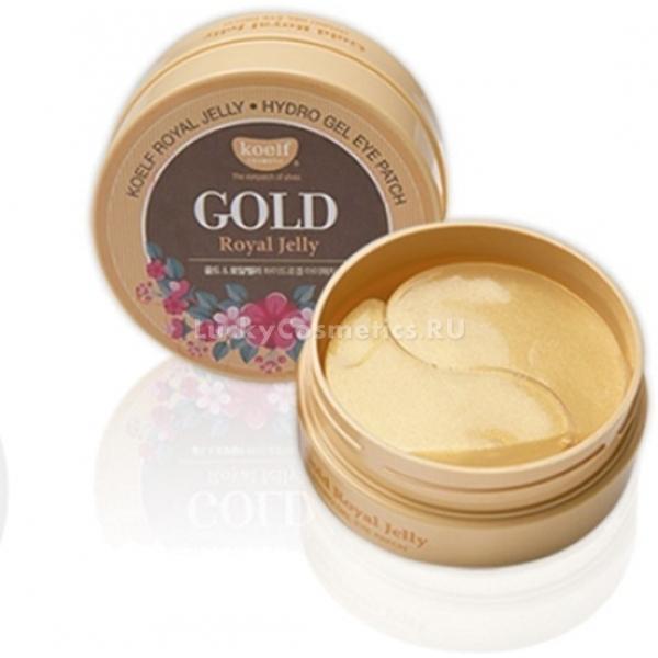 Koelf Hydro Gel Gold amp Royal Jelly Eye Patch -  Для лица