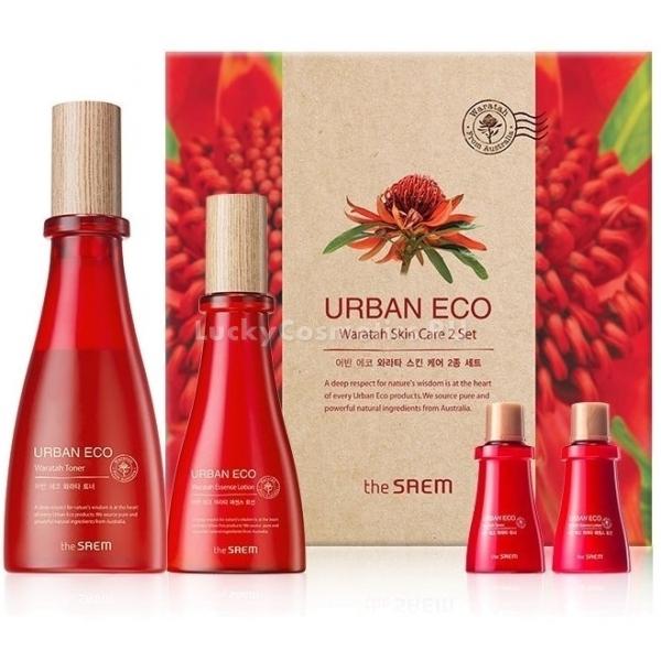 The Saem Urban Eco Waratah Skin Care Set -  Для лица