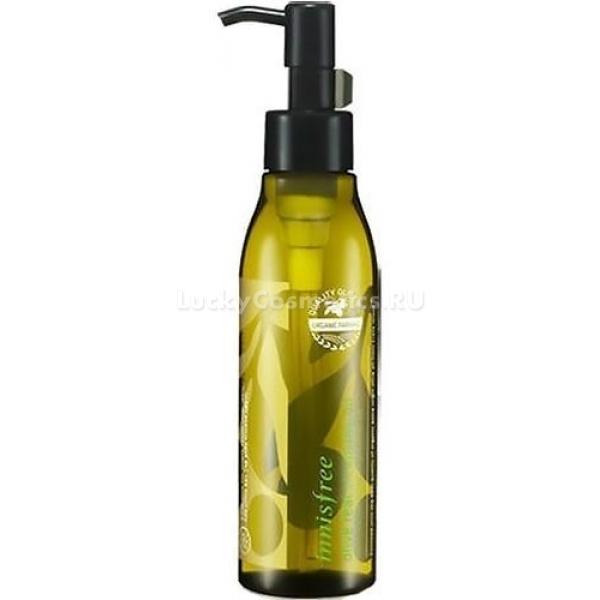 Innisfree Olive Real Cleansing OilЗалог чистой и здоровой кожи - тщательное очищение ее от косметики и загрязнений. Именно для этого создано гидрофильное масло Olive Real от косметического бренда Innisfree на основе экстракта оливок. Оно очищает лицо от косметических средств, включая водостойкие. При этом одновременно ухаживает за кожей, увлажняя, смягчая ее, ускоряет процесс регенерации, устраняет воспаления и раздражения, защищает от различных воздействий природы и преждевременного увядания кожи.<br><br>Уже после нескольких применений Cleansing Oil кожа становится здоровее и красивее, она мягкая, увлажненная и гладкая. О шелушениях и покраснениях можно забыть на все время использования гидрофильного масла.<br><br>В составе продукта также присутствует цветочные экстракты, которые усиливают эффект оливок. А вот красителей и парабенов в масле нет.<br><br>&amp;nbsp;<br><br>Объём: 150 мл.<br><br>&amp;nbsp;<br><br>Способ применения:<br><br>Очистить кожу и нанести масло с помощью ватного диска или пальцев, помассировать и удалить водой вместе с косметикой.<br>