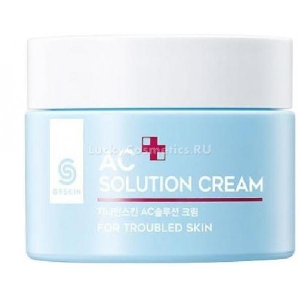 Berrisom AC Solution CreamSolution Cream из линейки ухаживающих средств от корейского бренда Berrisom G9 – это шаг навстречу здоровой и красивой коже. Натуральный состав крема не вызывает аллергии и побочных эффектов и целенаправленно действует против основных проблем кожи, склонной к воспалениям и покраснениям.<br><br>Экстракт лаванды и чайного дерева успокаивает раздражения и подсушивает высыпания, помогая им быстрее заживать. Кокосовое масло и роскошное масло ши глубоко питают, а мед дарит длительное увлажнение и обогащает кожу полезными микроэлементами.<br>Регулярное применение AC Solution Cream сделает вашу кожу ухоженной и отдохнувшей. Сократится количество пятен и рубцов от акне, вернется ровный цвет лица, гладкость и эластичность. Этот азиатский волшебник станет вам надежным другом на пути в борьбе с несовершенствами и воспалениями.Объём: 50 мл.Способ применения:Чистыми руками или лопаточкой нанесите крем на очищенную кожу. Легкими движениями распределите по массажным линиям. Для лучшего эффекта используйте крем после применения тоника из серии средств для проблемной кожи AC Solution G9.<br>