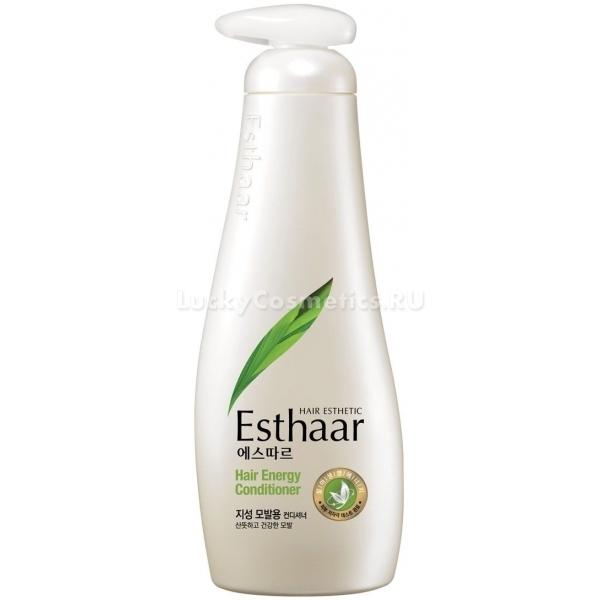 KeraSys Esthaar Hair Energy ConditionerВернуть волосам природную силу и красоту поможет инновационный кондиционер KeraSys Esthaar Hair Energy Conditioner. Продукт с питательной формулой мгновенно устраняет сухость и ломкость, запечатывает секущиеся кончики и обеспечивает локонам сияние и гладкость. Легкая тающая текстура средства мгновенно распределяется по волосам и восполняет дефицит витаминов и микроэлементов. Уникальная технология помогает прочно удерживать необходимое количество влаги в клетках и предотвращает образование перхоти. Многофункциональное действие продукта обеспечивает не только надежную защиту от негативного влияния факторов окружающей среды, но и помогает полностью восстановить поврежденные волосы.<br><br>Экстракт черной смородины в составе средства интенсивно питает, увлажняет сухую кожу, усиливает обменные процессы и предотвращает потерю волос.<br><br>Рожь и пшеница помогают избавиться от проблем перхоти, зуда и шелушения кожи головы, восполняют недостаток микроэлементов и витаминов А и Е, смягчают и разглаживают сухие локоны.<br><br>Экстракт календулы обладает дезодорирующим, кондиционирующим и антибактериальным действием, предотвращает быстрое загрязнение кожи и волос.<br><br>&amp;nbsp;<br><br>Объём: 500 мл.<br><br>&amp;nbsp;<br><br>Способ применения:<br><br>На предварительно вымытые пряди нанесите средство и оставьте на 5 &amp;ndash; 10 минут, после чего смойте теплой водой.<br>