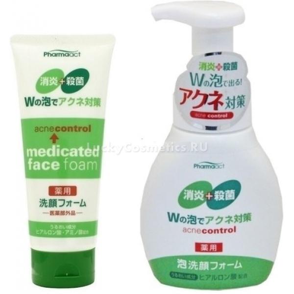 Купить Kumano Cosmetics Pharmaact Acne Control Medicated Face Foam