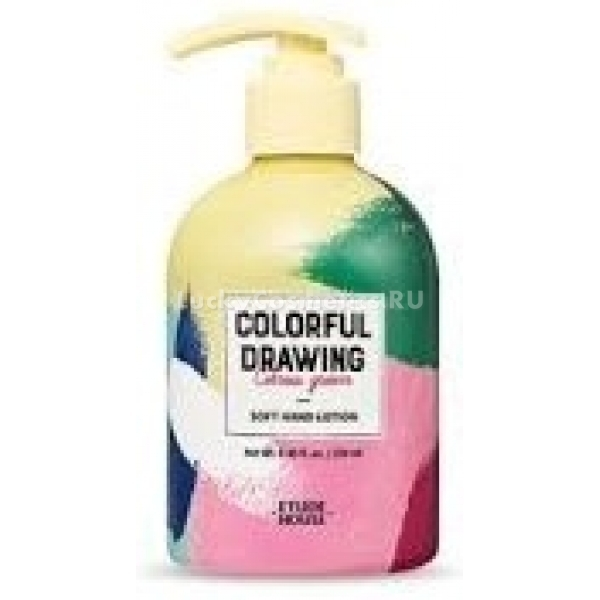 Etude House Colorful Drawing Soft Hand Lotion