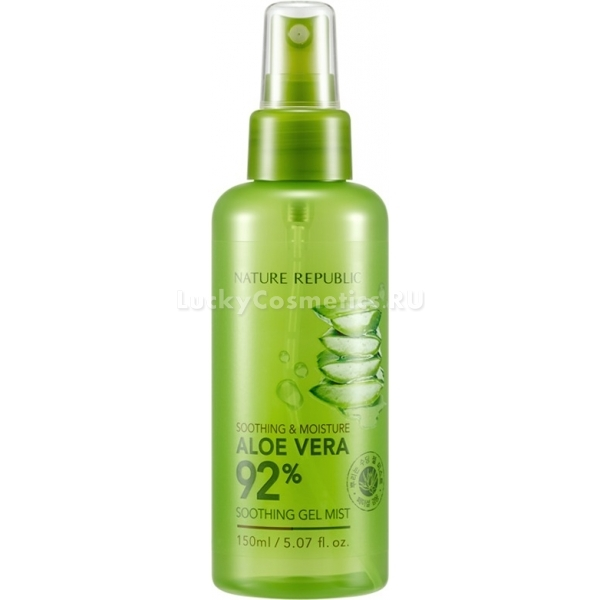 Купить Nature Republic Soothing And Moisture Aloe Vera Soothing Gel Mist