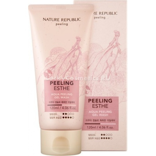 Nature Republic Aqua Peeling Gel Wash