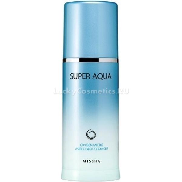 Купить Missha Super Aqua Micro Visible Oxygen Deep Cleancer