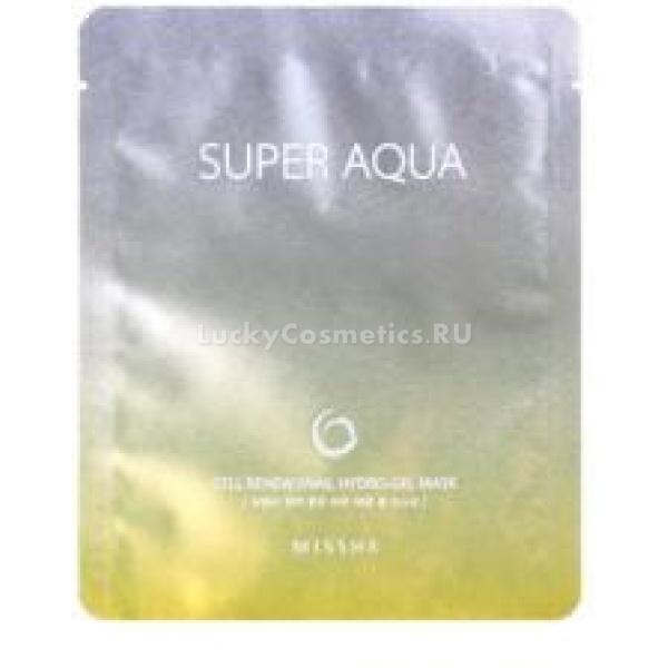 Антивозрастная  маска для лица Missha Super Aqua Cell Renew Snail Hydro Gel MaskДанная маска для лица обладает мгновенным действием, результатом применения которой станет молодая, ухоженная и красивая кожа! Она рекомендована к использованию обладательницам кожи с такими проявленными признаками увядания, как недостаток тонуса и эластичности, наличие морщинок, сухость и обезвоженность. Ее гелевая консистенция обеспечивает высокую проницаемость полезных веществ в глубочайшие слои эпидермиса, в результате чего он насыщается всеми необходимыми элементами для регенерации. Основной компонент состава &amp;ndash; улиточный секрет. Он обладает мощнейшими антивозрастными свойствами, способствует обновлению рельефа кожи, интенсивному увлажнению, разглаживанию морщин и восстановлению эластичности. Продукт также обогащен множеством экстрактов растительного происхождения, в числе которых вытяжка портулака, обладающая успокаивающим, противовоспалительным действием. Вытяжки цветков ромашки аптечной и центеллы азиатской способствуют укреплению сосудов кожи, заживлению мелких воспалений, а также выравниванию ее тона. Введение в состав гиалуроновой кислоты делает эту маску великолепным увлажняющим продуктом, в результате действия которого клетки эпидермиса получают необходимую влагу на длительный срок времени, что способствует продлению молодости кожи, а также препятствует образованию преждевременных морщинок. Данная маска является высокоинтенсивным продуктом, поэтому эффект от ее применения становится очевидным с первого раза, регулярное же ее использование позволит поддерживать кожу в идеальном состоянии в течение длительного времени. Позвольте себе стать обладательницей молодой, красивой и ухоженной кожи, воспользовавшись маской Super Aqua Cell Renew Snail Hydro Gel Mask от корейского бренда Missha!<br><br>&amp;nbsp;<br><br>Объём: 25 мл<br><br>&amp;nbsp;<br><br>Способ применения:<br><br>Средство необходимо наносить на чистую кожу лица, а затем оставить для воздействия на 40 минут, п
