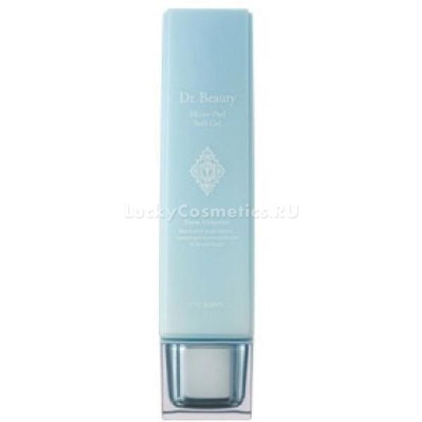 Щадящий гель для пилинга The Saem Dr. Beauty Micro Peel Soft GelМягкий гель-пилинг позволяет вам безопасно произвести процедуру пилинга даже на самой чувствительной коже. Рабочие элементы в составе средства &amp;ndash; микрокристаллы целлюлозы, отшелушивающие мертвые клетки и адсорбирующие жировые загрязнения.<br><br>Гель также растворяет и выводит глубокие сальные пробки, а затем сужает поры, предупреждая последующие загрязнения.<br><br>Гель обогащен комплексом растительных экстрактов (гамамелиса, ивовой и сосновой коры, альпийской розы, портулака) &amp;ndash; натуральные лекарства для кожи, восстанавливающие ее нежность, гладкость, поднимающие иммунные силы, улучшающие цвет и текстуру.<br><br>&amp;nbsp;<br><br>Объём: 160 мл<br><br>&amp;nbsp;<br><br>Способ применения:<br><br>Для использования этого пилинга не обязательно умываться, особенно если у вас чувствительная кожа. Нанесите несколько капель средства на ладони и плавно растирайте его по лицу, одновременно массируя пальцами кожу. Через полминуты превращенный в катышки гель схватывает все лишние жиры, загрязнения и мертвые клетки верхних слоев. Не забудьте, что удобней всего производить эту процедуру в ванной комнате, так как катышки осыпаются с лица, открывая вам нежную посвежевшую кожу. Смойте остатки геля теплой водой.*<br>