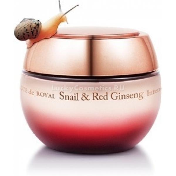 The Saem Beaute de Royal Snail amp Red Ginseng Intense Cream -  Улиточная косметика