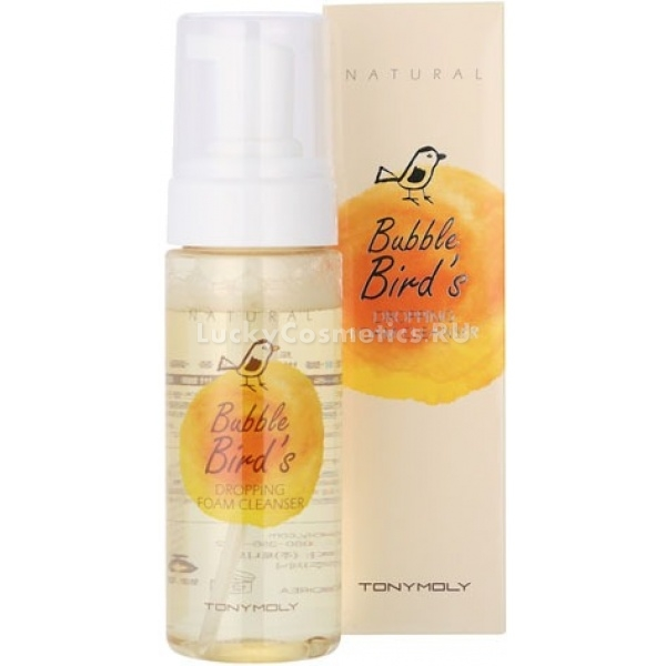 Tony Moly Natural Bubble Birds Dropping Foam Cleanser
