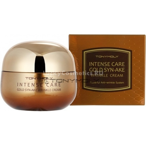 Tony Moly Intense Care Gold SynAke Wrinkle Cream