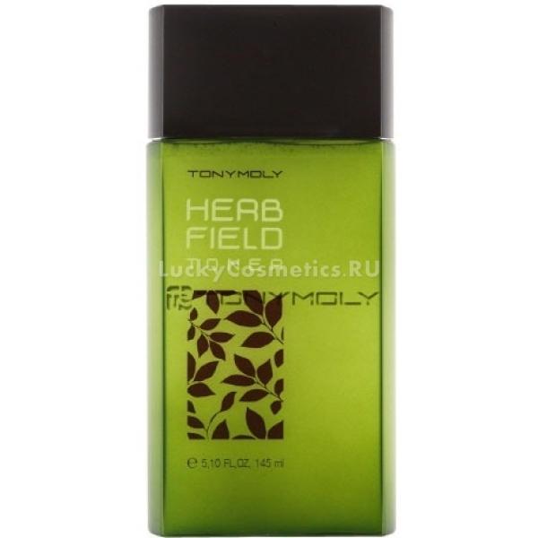 Tony Moly Herb Field TonerЭто прекрасное средство для ежедневного ухода, способное эффективно заботиться о коже лица.<br>Тонер не только способствует питанию эпидермиса влагой, но и обладает матирующим эффектом, избавляет от пор на лице. Воздушная текстура средства сделает кожу отдохнувшей, подарит ей спокойствие, снимет отечность, создаст ощущение комфорта.<br>Весомым плюсом успокаивающего тонера на экстрактах трав Tony Moly Herb Field Toner является то, что в его составе содержится целая группа растительных активных компонентов, таких как: орегано, примула, розмарин и лаванда. Именно эти вещества заботятся об уставшей коже, препятствуют возникновению воспалительных процессов и раздражения. Также данные ингредиенты создают защитный барьер, который не допускает негативного воздействия из внешней среды. Рекомендовано для употребления мужчинами после процедуры бритья.<br>Цитрусовый запах подарит энергию на весь день. Продукт создан на основе натуральных компонентов, а значит в составе отсутствуют красители, парабены и ГМО.Объём: 145 млСпособ применения:Наносится средство массирующими движениями на все участки кожи лица.<br>