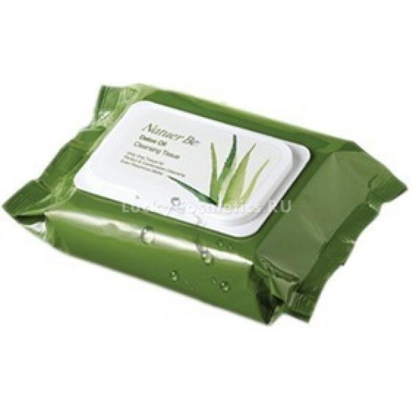Enprani Natuer Be Detox Oil Cleansing TissueСалфетки для лица от компании Enprani не только бережно очищают от загрязнений и макияжа, но и обеспечивают коже увлажнение и питание. Они отлично справляются с заявленной производителем задачей, поскольку пропитаны тщательно подобранным комплексом суперполезных растительных масел. Компоненты эссенции деликатно ухаживают за кожей лица и шеи, не вызывая покраснений или аллергических реакций.<br><br>Косметический продукт показан для использования при любом типе коже и является отличной альтернативой тоникам и лосьонам. После его применения лицо выглядит ухоженным и увлажненным. Салфетки имеют легкий аромат, оставляют после себя ощущение свежести. Расход средства очень экономичен.<br><br>Удобная упаковка салфеток выполнена в стильном дизайне. Этот предмет станет незаменимым помощником в дороге, когда нет возможности очистить кожу лица традиционным способом.<br><br>&amp;nbsp;<br><br>Объём: 60 шт/310 гр<br><br>&amp;nbsp;<br><br>Способ применения:<br><br>Мягко протереть кожу лица и шеи салфеткой. Особое внимание следует уделить местам со стойкой косметикой.<br>