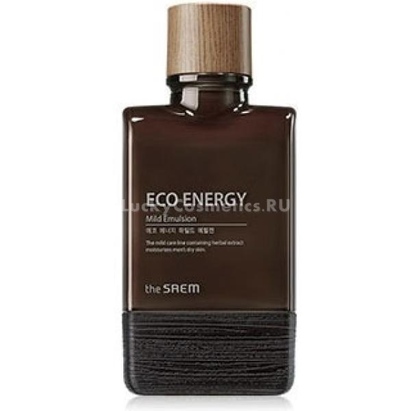 The Saem Eco Energy Mild EmulsionДанная эмульсия позволит любому мужчине стать обладателем здоровой и ухоженной кожи! Она обладает весьма легкой консистенцией, без труда проникающей в эпидермис, насыщая каждую его клеточку необходимыми витаминами. Отсутствие неприятной пленки после применения продукта является также его дополнительным достоинством, делая данное средство более приятным в использовании. В основе состава продукта исключительно растительные ингредиенты, в числе которых вытяжки шалфея, розмарина, лаванды, а также масла цитрусовых. Растительные вытяжки обладают уникальными бактерицидными, восстанавливающими и успокаивающими свойствами. Масла цитрусов безупречно напитывают, смягчают и увлажняют кожу, а также исключают риск образования признаков увядания. Каждодневное использование продукта помогает улучшить состояние мужского эпидермиса, избавить его от основных недостатков, а также вернуть ему ухоженный и молодой вид. Станьте обладателем безупречно красивой кожи, применяя эту мужскую эмульсию от бренда The Saem!<br><br>&amp;nbsp;<br><br>Объём: 150 мл<br><br>&amp;nbsp;<br><br>Способ применения:<br><br>Продукт следует наносить на кожу в небольшом количестве вечером и утром после ее очищения.<br>