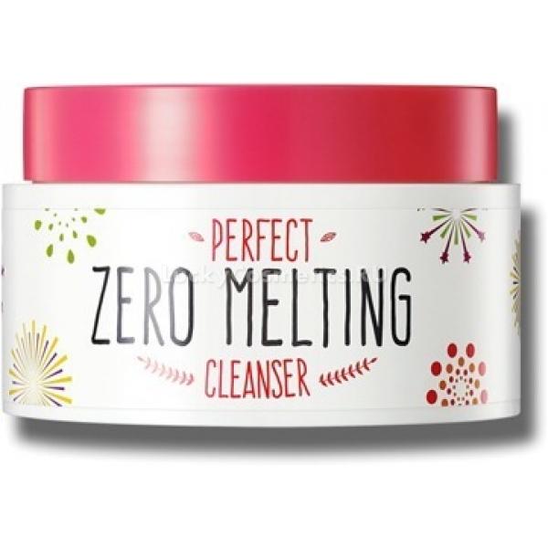 Secret Key Perfect Zero Melting CleanserОчищающий крем Perfect Zero Melting Cleanser обладает щербетной текстурой и при нанесении на кожу мгновенно тает, воплощая свою основную функцию &amp;ndash; очищение поверхности. Поможет ежедневно удалять с кожи как обычные дневные загрязнения, так и остатки макияжа. Легко справляется даже с очень стойкими средствами из разряда декоративной косметики. Можно использовать для снятия макияжа с наиболее чувствительных зон &amp;ndash; глаз и губ.<br><br>Состав основан на смешении натуральных компонентов, в числе которых первое место занимают масла и экстракты растительного происхождения.<br><br>Масло шиповника легко справляется с микробами, а также питает клетки витаминным раствором. Поверхность становится более мягкой и нежной. Затягиваются ранки, ускорятся процессы выведения из тканей отмерших частиц. Защищает от ультрафиолетовых лучей, позитивно влияет на разглаживание морщин.<br><br>Экстракт папайи успокаивает кожу, снимает воспаление, запускает процессы регенерации клеток. Благодаря включению этого компонента в состав крем становится идеальным уходовым средством для проблемных участков.<br><br>Экстракт грейпфрута помогает справиться с недостатками жирной кожи, позитивно влияя на функционирование сальных желез. Заживляет акне и уменьшает пигментацию.<br><br>&amp;nbsp;<br><br>Объём: 160 г<br><br>&amp;nbsp;<br><br>Способ применения:<br><br>Легко массируя, распределить по поверхности лица. Затем смыть с кожи с использованием тёплой воды.<br>