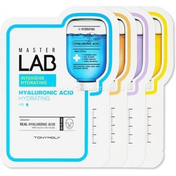 Осветляющая тканевая маска Tony Moly Master Lab Vitamin C MaskMaster Lab Vitamin C Mask &amp;ndash; это тканевая маска от марки Tony Moly, предназначенная для ухода за кожей лица в домашних условиях. Благодаря содержанию в ее составе различных полезных компонентов достигается осветление и выравнивание тона кожи. Главный из этих компонентов &amp;ndash; витамин С, который не только не только осветляет на несколько тонов пигментные пятна и предупреждает их появление, но и защищает кожу от воздействия вредных лучей, способствует заживлению ранок и покраснений.<br><br>Для наилучшего эффекта желательно использовать маску регулярно. Уже после 1-2 раз состояние кожи улучшается - она становится более упругой, отдохнувшей и ровной, а через несколько недель заметно преображается.<br><br>&amp;nbsp;<br><br>Объём: 19 г<br><br>&amp;nbsp;<br><br>Способ применения:<br><br>Очистить лицо от косметики и загрязнений, приложить на все лицо маску ровным слоем и продержать около 30 минут, затем снять ее и вбить остатки пальцами.<br>