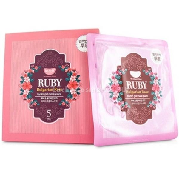 Koelf Ruby amp Bulgarian Rose Hydro Gel Mask PackГидрогелевая основа маски сама по себе обладает мощным увлажняющим эффектом, размягчает внешний роговой слой кожи и способствует проникновению активных ингредиентов. Поэтому использовать ее можно и как самостоятельное средство, и в качестве подготовки к другим лечебным процедурам, оздоравливающим кожу.<br><br>В составе маски &amp;ndash; экстракт болгарской розы, питающий и смягчающий кожу, усиливающий ее микроциркуляцию и энергетику клеток. Тон лица выравнивается, оно приобретает здоровый румянец и словно светится изнутри.<br><br>Рубиновая пудра &amp;ndash; драгоценный компонент средства, способствует уплотнению структуры кожи, делает овал лица более четким, возвращает тургор и эластичность. Частички пудры обладают светоотражающими свойствами, из-за чего кожа выглядит сияющей, а ее тон визуально осветляется.<br><br>&amp;nbsp;<br><br>Объём: 30 г<br><br>&amp;nbsp;<br><br>Способ применения:<br><br>Нанесите гидрогелевую основу на кожу и оставьте на двадцать минут для воздействия. После этого вмассируйте остатки средства в кожу подушечками пальцев вдоль массажных линий и приступайте к другим уходовым процедурам. Для лучшего эффекта маску делают на ночь и все время воздействия проводят в спокойном расслабленном положении лежа.<br>