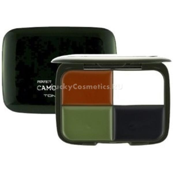 Камуфляжный крем 4 оттенка Tony Moly Perfect Camo Cream