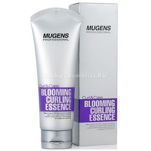 Welcos Mugens Blooming Curling EssenceВ состав эссенции входит липосомный комплекс и экстракт розы.<br>Экстракт розы восстанавливает поврежденную структуру волос, борется с выпадением и предотвращает появление секущихся кончиков.<br>Все компоненты Mugens Essence дополняют действие друг друга, создавая неповторимый состав, обладающий  питательными и увлажняющими свойствами.  предотвращает появление секущихся кончиков, делает волосы более мягкими и послушными.<br>При регулярном использовании Blooming Curling волосы выглядят здоровее, приобретают блеск, а непослушные кудри укладываются в красивый завиток.Объём: 150 мл.Способ применения:Использовать на чистые влажные волосы. Не смывать.<br>