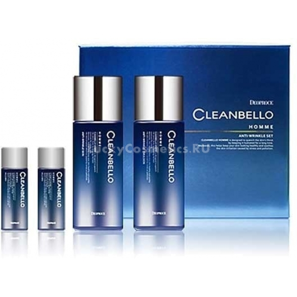 Deoproce Cleanbello Homme AntiWrinkle Set